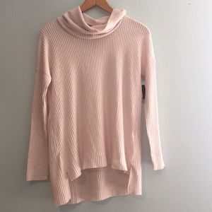 NEW BP Waffle knit Cowl Neck Sweater